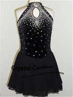 Hot Sales Ice Skating Dresses For Children New Brand Vogue Figure Skating Competition Dress For Women DR3060