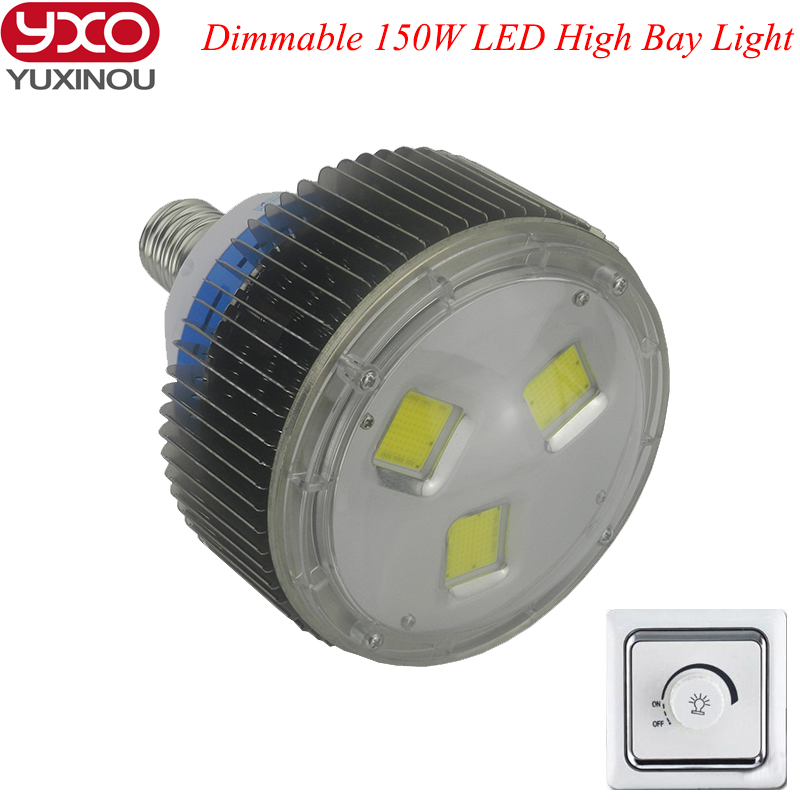 1pcs dimmable Industrial LED Lighitng Lamps 150W LED High Bay light AC110v 220V 240V LED Workshop lamp mining lamp 1pcs 50w 100w 150w led high bay light 150w led industrial lamp for sewing machine light factory warehouse stadium workshop