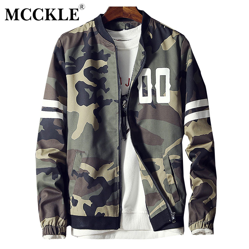 8c54e44a28 Spring Camouflage Bomber Men Jacket Coat Army Green Zipper Camo Male Baseball  Jackets Coats 2019 Casual Windproof Streetwear 5XL-in Jackets from Men s ...