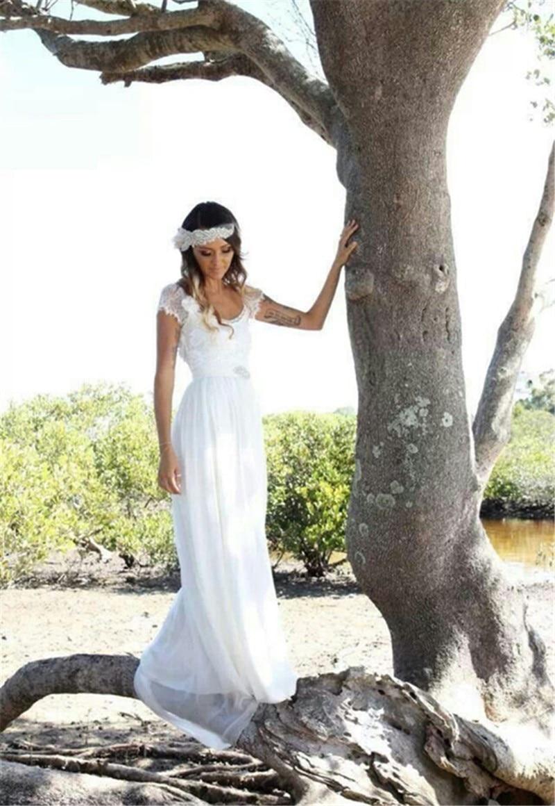lace wedding dress simple white wedding dresses Lace Wedding Dress
