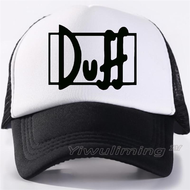 New Summer Trucker   Caps   duff Cool Summer Black Adult Cool   Baseball   Mesh Net Trucker   Caps   Hat for Men Adjustable