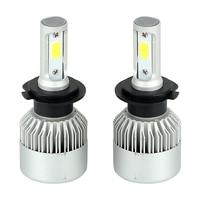 2pcs 200W Set Universal Automobiles Headlamp Car LED Headlight Head Light H1 H7 H4 HB2 9003