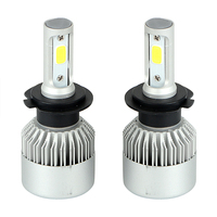 2pcs 200W Set Universal Automobiles Headlamp Car LED Headlight Head Light H1 H7 H4 HB2 9003