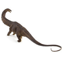 цены 45cm Apatosaurus Dinosaur Toys Hand Painted Action Figure Animal Model Collection Educational Kids Gifts Toys Collections