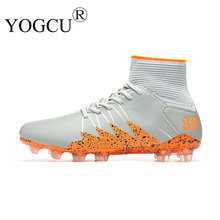 Zapatillas de Soccer hombres pico crampoon fútbol Botas tobillo fútbol  Superstar original sneakers Deportes Fútbol Zapatos d4d6a44b4c73a
