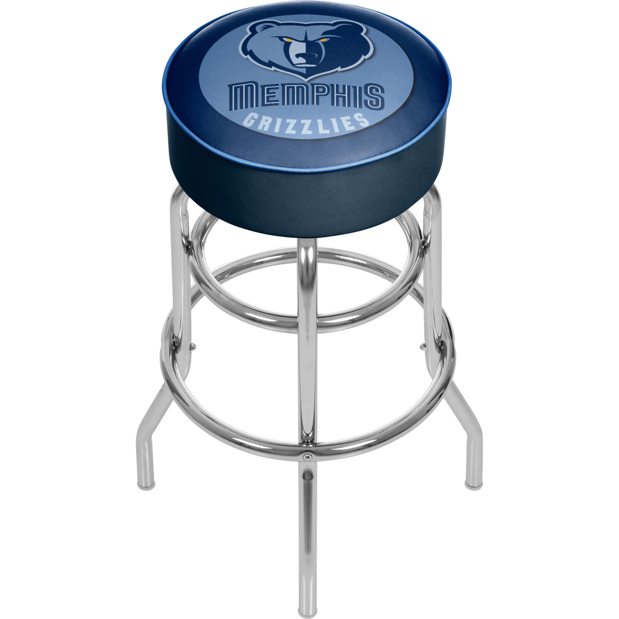 Memphis Grizzlies NBA Padded Swivel Bar Stool 30 Inches High фанатская атрибутика nike curry nba