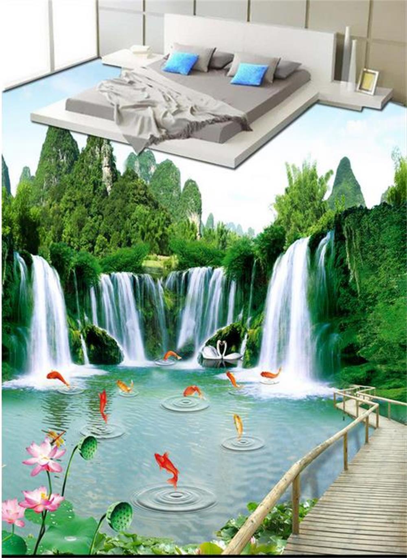 Wallpaper Dinding Gambar Taman