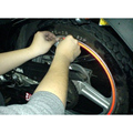 (10 sets/lot ) Wholesale Motorcycle Car Wheel Tire Stickers Reflective Rim Tape Car Styling