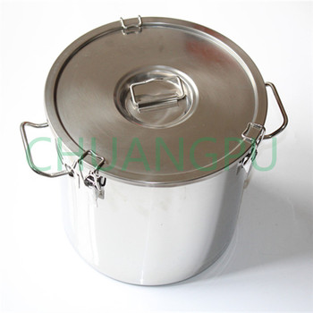 21Liter New Type Stainless Steel 316 Material Milk Drum with Sealing Cover