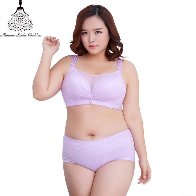 e36dba1187 Lingerie Bra Set Lace Push Up Lingerie Sexy Women Underwear Set Plus Size  44 46 48 50 Bralette Bras For Women Bra And Panty Set