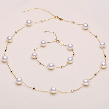 Eternal wedding Women Gift word 925 Sterling silver real 925 silver real natural big Cano Cindy stars freshwater pearl necklace