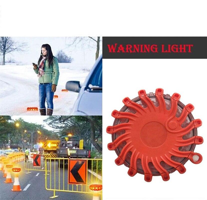 Universal Portable LED Flash Traffic Warning Light Super Bright Crush Resistance