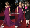 2014 New Arrival Purple Prom Dress Long Elegant Maternity Evening Dress Pregnant Women Party Dress Vestido de Festa Amarelo