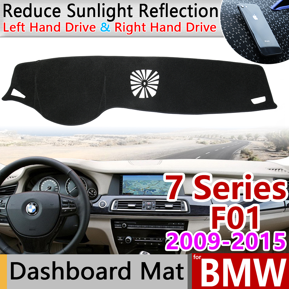 for <font><b>BMW</b></font> 7 Series <font><b>F01</b></font> 2009 2010 2011 2012 2013 2014 2015 Anti-Slip Mat Dashboard Cover Dashmat <font><b>Accessories</b></font> 730i 740i 750i 730d image