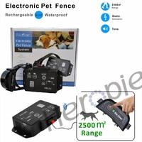 Heropie Newest type Petrainer PET803 Waterproof Rechargeable Electric Pet Fence Dog Training Collar