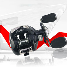 12 + 1 Bearings Left / Right Hand Baitcasting Reel 6.2:1 Crap Fishing Reel Magnetic and Centrifugal Dual Brake System  JC