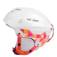 Brand Men S Women S Half Covered Skiing Helmets Outdoor Sport Integrally Molded Snowboard Skateboard Ski