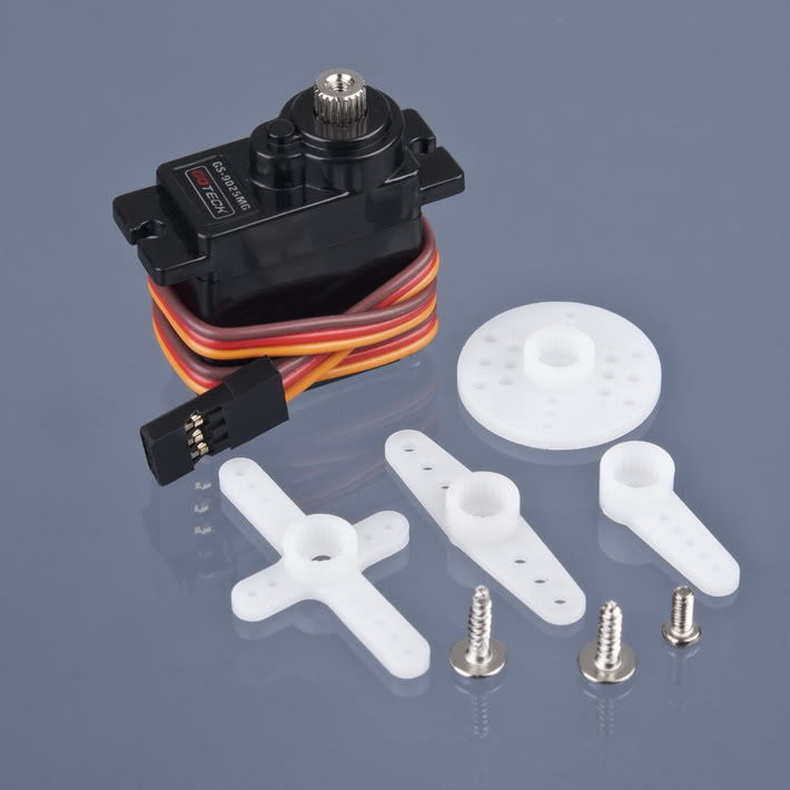 4pcs/lot  High Quality 9g Metal SG90 Gear Servo GS-9025MG For RC 250 450 Helicopter plane Airplane boat car