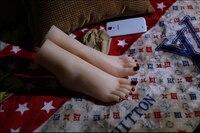 Новые поклоняться идеальный поддельные хозяйка Pussy ног Средства ухода за кожей стоп модель фут фетиш клоны розовые ногти