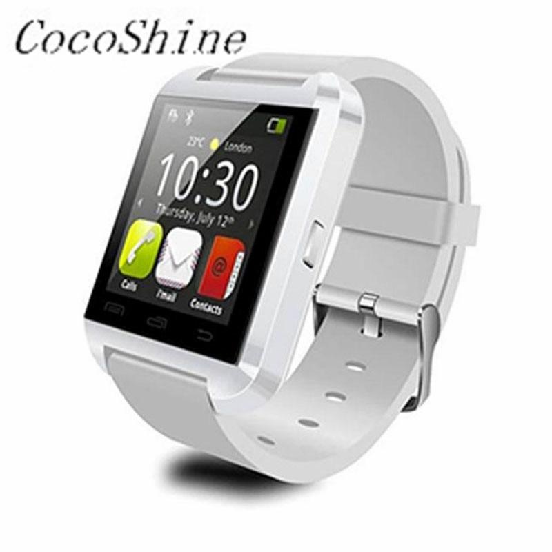 A ZN8 Free shipping High Quality Luxury 1PC Smart Wrist Watch Phone Mate Bluetooth 4 0