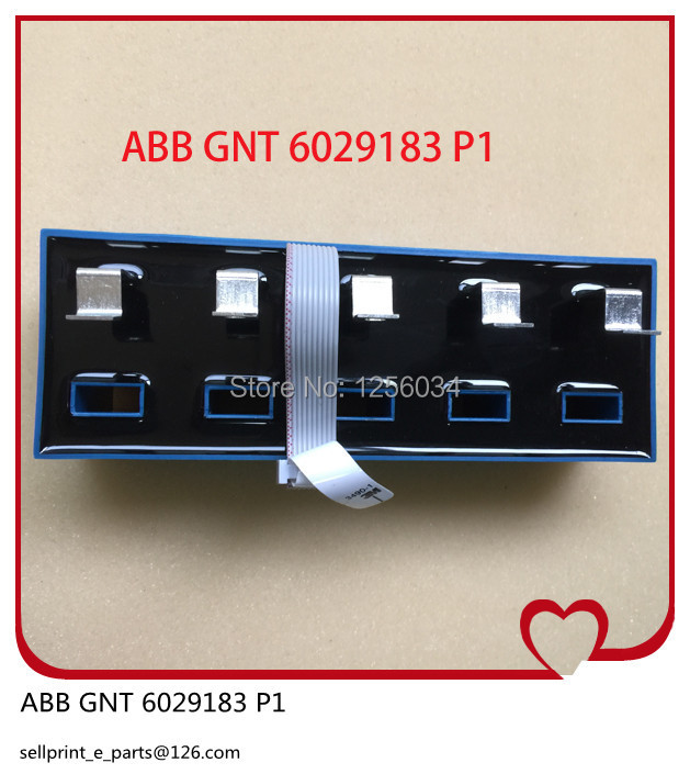 1 piece ABB GNT6029183P1, Testing current and voltage module for offset printing machine hedeiberg ABB GNT 6029183 P1