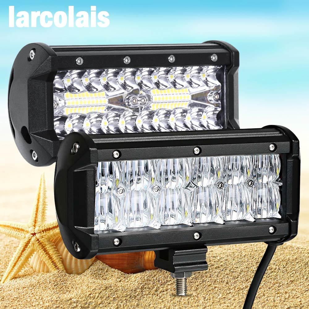 цена на Led Work light 6.5 inch Led Bar for Off Road 4x4 4WD ATV UTV SUV Driving Motorcycle Truck Led Light Bar Auto Lamp