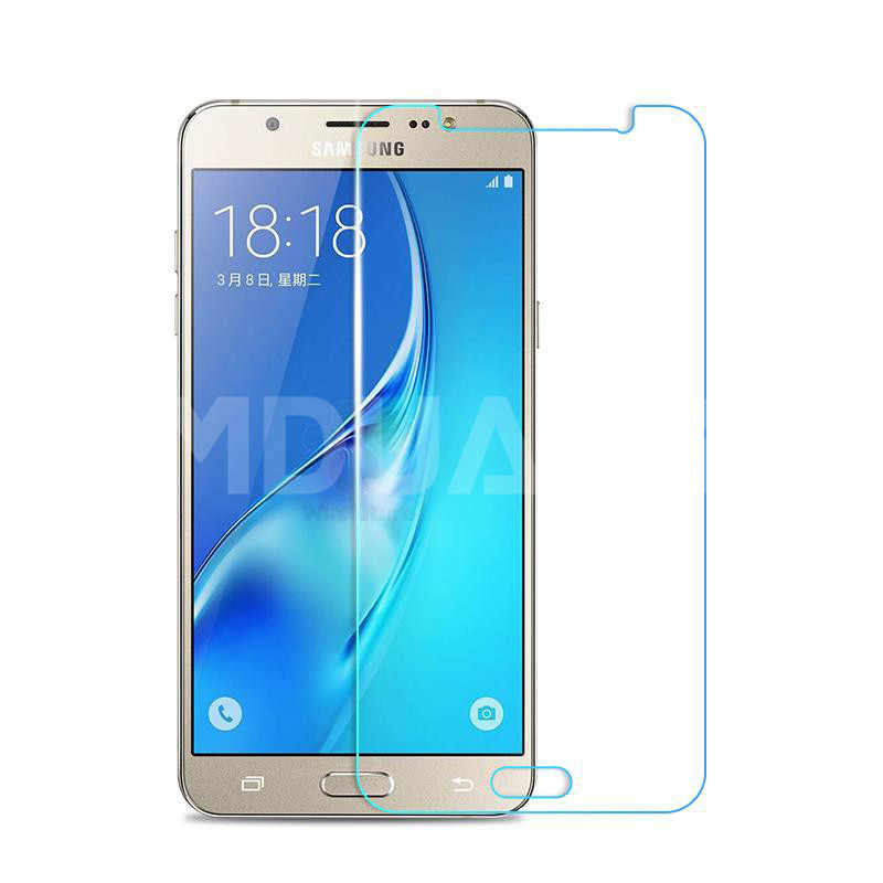 9H Tempered Glass on the For Samsung Galaxy J3 J5 J7 A3 A5 A7 2015 2016 2017 A6 A8 Plus A9 2018 Screen Protector Protective Film