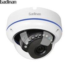 GADINAN Onvif IP Kamera 1080 P 15fps/960 P 22FPS/720 P 25fps 2.8mm Geniş Açı Vandal geçirmez Dome Gözetim IP Kamera için 48 V POE