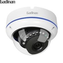 Ip камера GADINAN Onvif, 1080P, 15fps/ 960P, 22FPS /720P, 25fps, 2,8 мм, широкоугольная Антивандальная купольная камера видеонаблюдения, IP камера 48 в POE