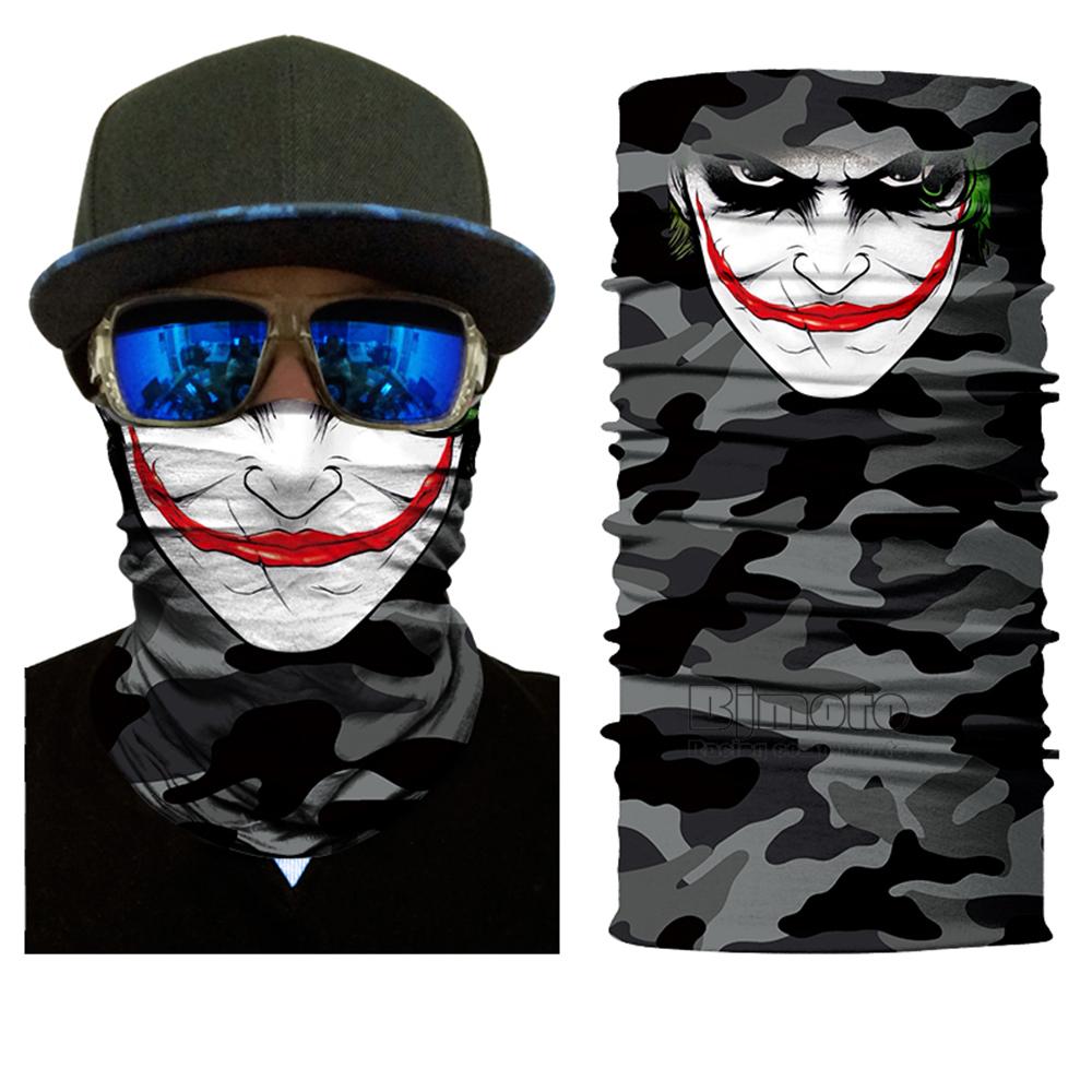 Multifunctional Motorcycle Face Shield Bandana Skull Scarf UPF High Quality Tube Skull Face Mask Shield Seamless Bandanas (14)