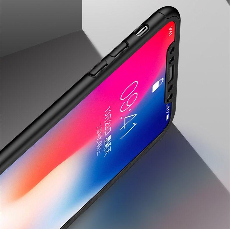 360 Προστατευτική θήκη για iPhone 6 6 S 7 8 Plus - Ανταλλακτικά και αξεσουάρ κινητών τηλεφώνων - Φωτογραφία 4