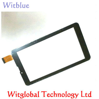 New For 7 Texet TM-7053 Tablet Capacitive touch screen digitizer glass panel Sensor replacement Touchpad FreeShipping