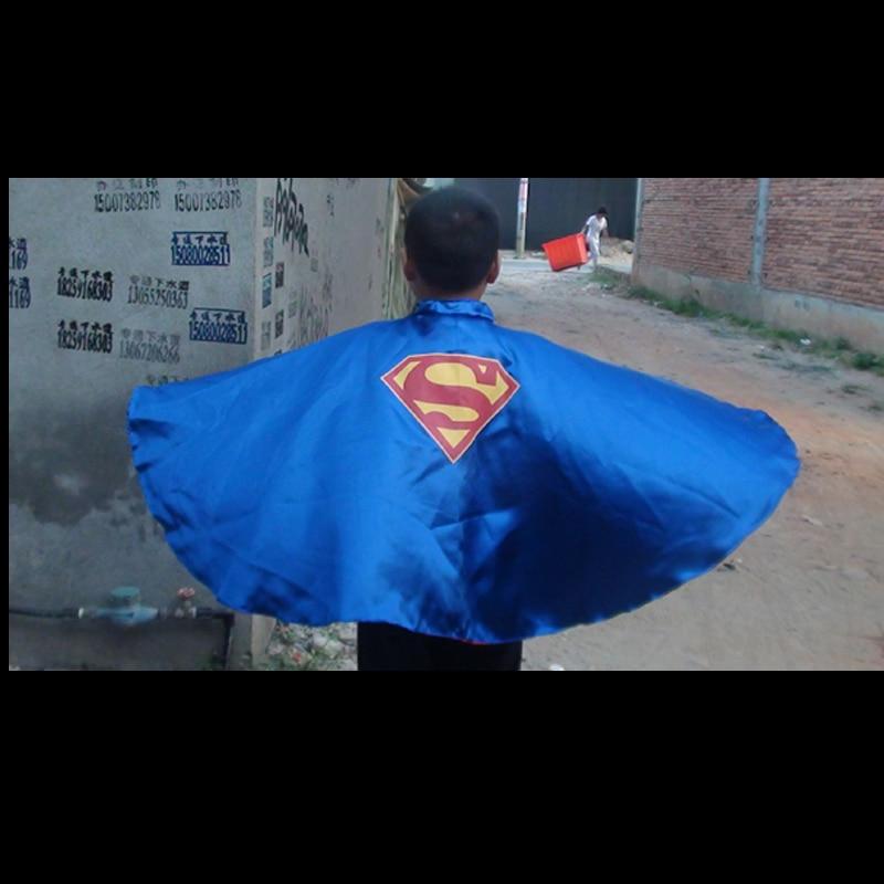 length 63cm Family superhero capes halloween holiday capes wholesale cape dress spiderman cape
