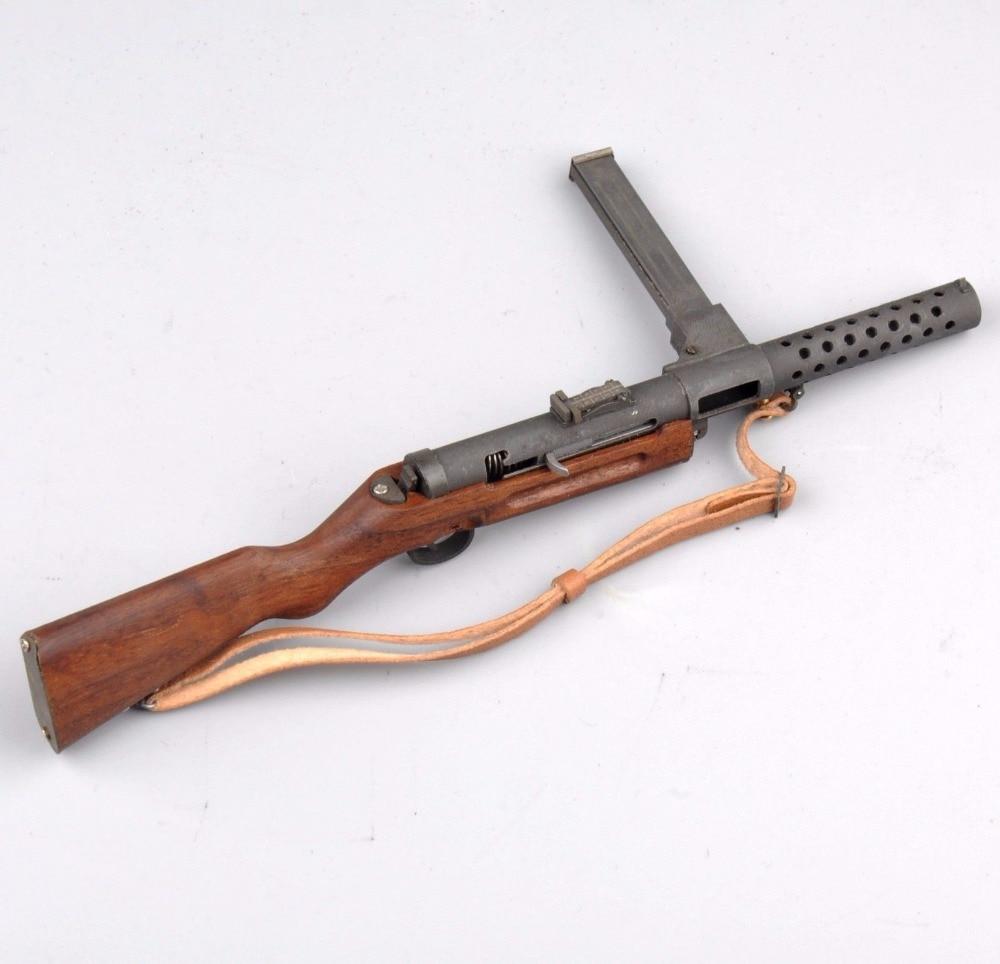 1//6 War Weapon Model MP28 Submachine Gun Toy Soldiers Accessories