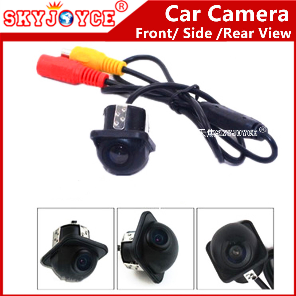 Front Side car camera CCD HD Rear view camera 170 Angle ...