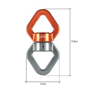 Image 4 - Lixada Seil Swivel 30kN Seil Swivel Anschluss Seil Swivel Versiegelt Lager Rettungs Klettern Seil Wirbel Fitness Ausrüstung