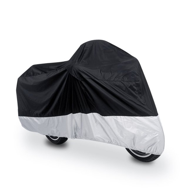 PU plated Motorcycle Cover Outdoor Waterproof Prevent ultraviolet radiation portable Durable Motobike Scooter Anti-Dust Cloth