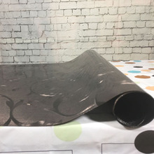 1.0mm thicknessTable mat PVC soft glass cloth waterproof oil resistant transparent frosted disposable square tablecloth