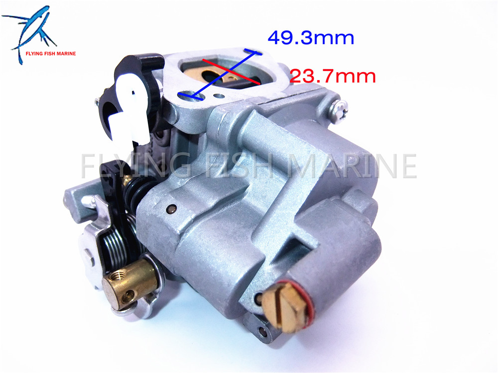 details about 68t 14301 11 outboard motors carburetor for yamaha 4 stroke 8hp 9 9hp f8m f9 9m Yamaha F75 Outboard