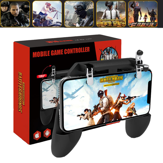 PUBG Mobile Game Controller L1R1 Shooter Joystick Gamepad Trigger Aim Button For IPhone Android Phone Game Pad Accesorios