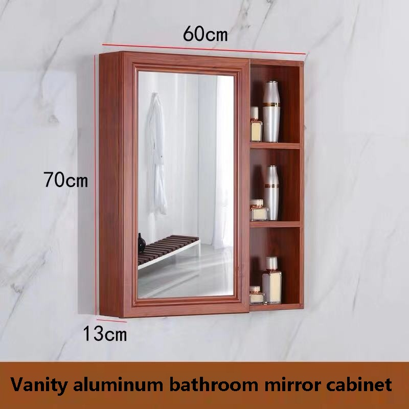 Free shipping U-BEST  Aluminum Hotel Cheap Used Bathroom Vanity Mirror Cabinets, home use corner bathroom mirror vanity cabinet