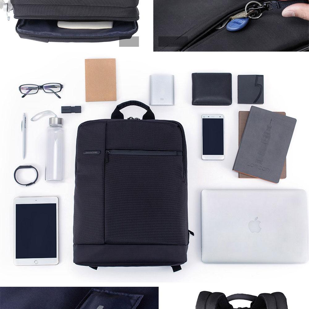 Original Xiaomi Backpack Classic Business Backpacks 17L Capacity Students  Laptop  Men Women Bag  For 15-inch Laptop OK (4)