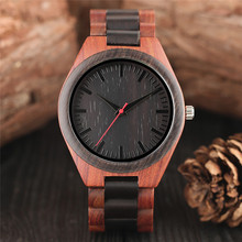 Deluxe Full Wooden Watch Natural Sandalwood Maple Wood Grain
