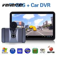 7 Inch Android Car Auto GPS Navigation Multi Maps 8G Driving Recorder Wifi Video