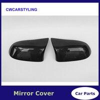 Углеродного волокна авто боковое зеркало fender Для BMW X3 F25 X4 F26 X5 F15 14 16X6 f16 15 16 Стандартный не м