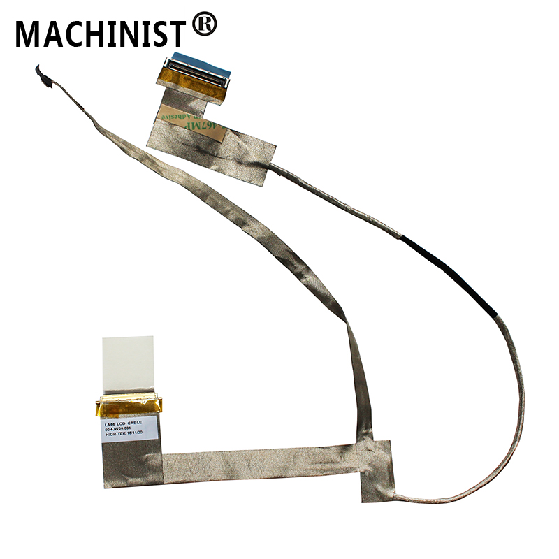 MACHINIST Video Screen Flex For Lenovo IdeaPad B560 V560 laptop LCD LED LVDS Display Ribbon Cable 50.4JW09.001