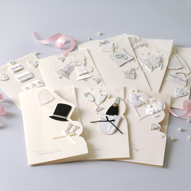 Beautiful Wedding Card To Bride And Groom 8 Designs Creative Gift Wishes