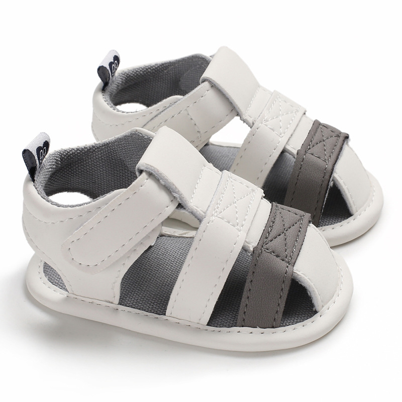 Summer Baby PU Shoes Newborn Boys Girls Cartoon First Walker Shoes Non-slip Infant Prewalker  Shoes