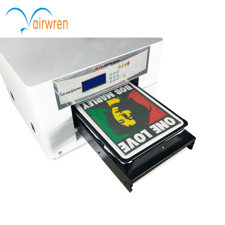 Trade Assurance T Shirt Printer Dtg A3 Size For T-Shirt With Industrial Machinery