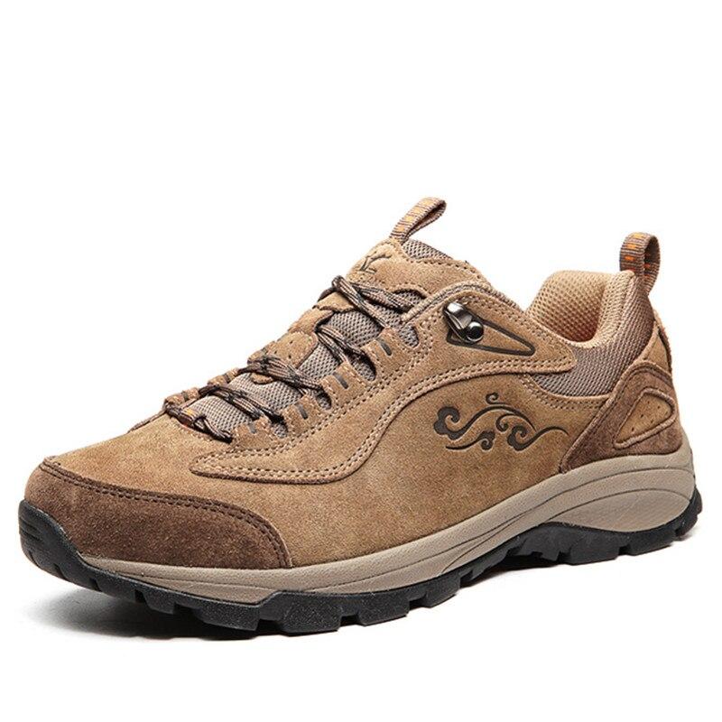 ФОТО XIANGGUAN man Hiking Shoes Women Suede Athletic Trekking Boots Zapatillas hombres Sports Climbing Shoe Outdoor trekking Sneakers